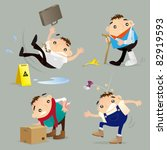 accident   injury | Shutterstock .eps vector #82919593