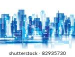 city landscape | Shutterstock .eps vector #82935730