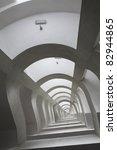 A Hypnotic Arch Hallway...