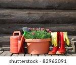 Garden Tools  Flower Pot ...