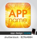 blank app icon for mobile... | Shutterstock .eps vector #82964884