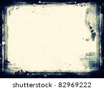 Stock photo computer designed highly detailed grunge frame with space for your text or image great grunge 82969222