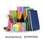 Bright Stationery And Books...