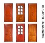 wood door | Shutterstock . vector #83004040