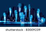 city landscape   Shutterstock .eps vector #83009239