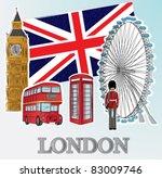 london | Shutterstock .eps vector #83009746