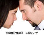 couple looking at each other... | Shutterstock . vector #8301079