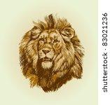 lion | Shutterstock . vector #83021236
