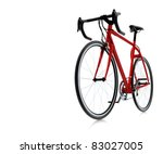 3d red bike | Shutterstock . vector #83027005