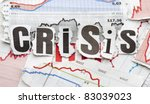 financial crisis | Shutterstock . vector #83039023