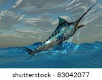 Blue Marlin Jump   An...