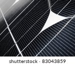 close detail of solar panel... | Shutterstock . vector #83043859