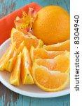 orange slices   Shutterstock . vector #8304940