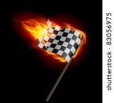 illustration of the burning... | Shutterstock .eps vector #83056975