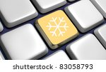 keyboard  detail  with... | Shutterstock . vector #83058793