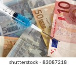 financial injection | Shutterstock . vector #83087218