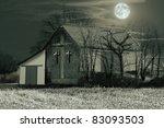 old barn | Shutterstock . vector #83093503