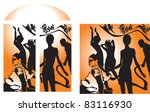 vector illustration contains... | Shutterstock .eps vector #83116930