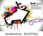 abstract modern banner theme... | Shutterstock .eps vector #83157361