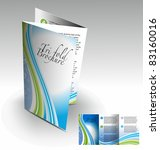 tri fold brochure design... | Shutterstock .eps vector #83160016