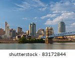 Cincinnati Skyline. Image Of...