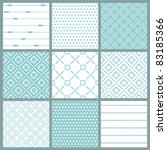 seamless backgrounds collection ... | Shutterstock .eps vector #83185366