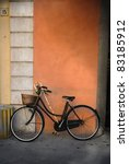 italian old style bicycle | Shutterstock . vector #83185912