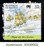 australia   circa 1987  a 37... | Shutterstock . vector #83189002