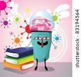 smart creature vector   Shutterstock .eps vector #83194564