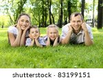 family of mother  father and... | Shutterstock . vector #83199151