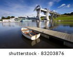 The Falkirk Wheel  A Rotating...