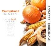 Pumpkins And Fall Vegetables...