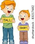 illustration of kids holding... | Shutterstock .eps vector #83217682