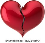 Heart Shape Classic Broken Wit...