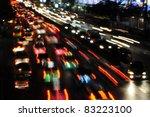 City Traffic At Night   Soft...