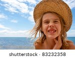 girl and sea | Shutterstock . vector #83232358