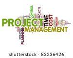 project management concept in... | Shutterstock . vector #83236426