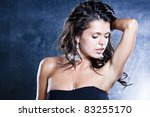sexual female portrait   Shutterstock . vector #83255170
