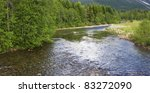 Wild Streams And Waterfalls Of...