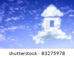 conceptual image   dream of own ...   Shutterstock . vector #83275978