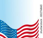 usa flag | Shutterstock .eps vector #83276860