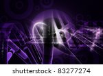 digital illustration dna... | Shutterstock . vector #83277274