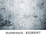 Closeup Of Rough Blue Textured...