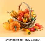 fresh healthy vegetables on... | Shutterstock . vector #83283580