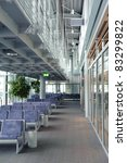 empty seats at an airport... | Shutterstock . vector #83299822