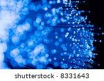 fiber optics close up  focal...   Shutterstock . vector #8331643