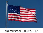 american flag. image of... | Shutterstock . vector #83327347
