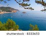 costa brava landscape near... | Shutterstock . vector #8333653