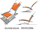 sketches of furniture | Shutterstock .eps vector #83342386