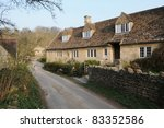 Old English Cottages On A...